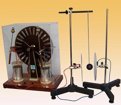 Bộ thí nghiệm về sự nhiễm điện