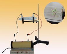 Bộ thí nghiệm tia Ca-tôt mang năng lượng và làm phát quang một số chất