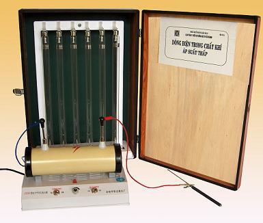 Bộ thí nghiệm phóng điện trong khí áp suất thấp