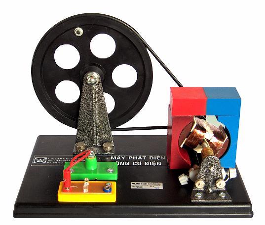 Động cơ điện - máy phát điện mini MS59