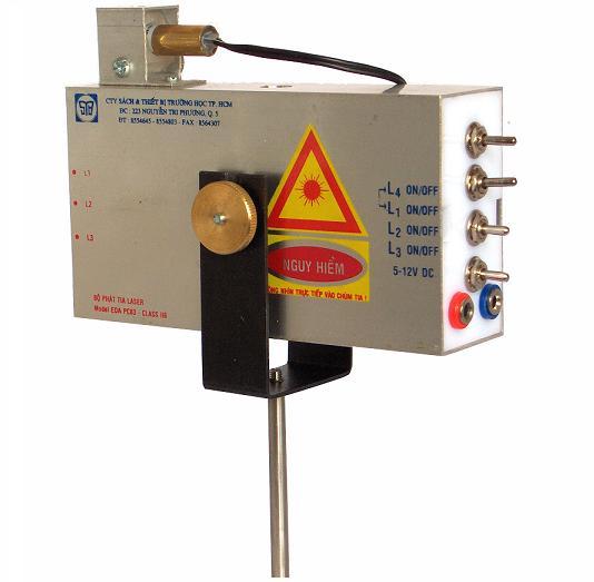 Bộ đèn laser và giá lắp đèn laser MS75