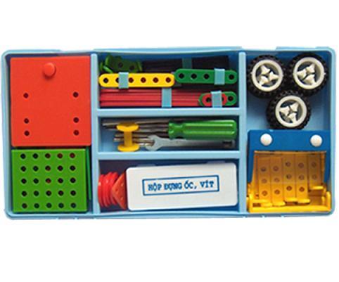 Bộ lắp ghép mô hình kỹ thuật lớp 4 (HS)