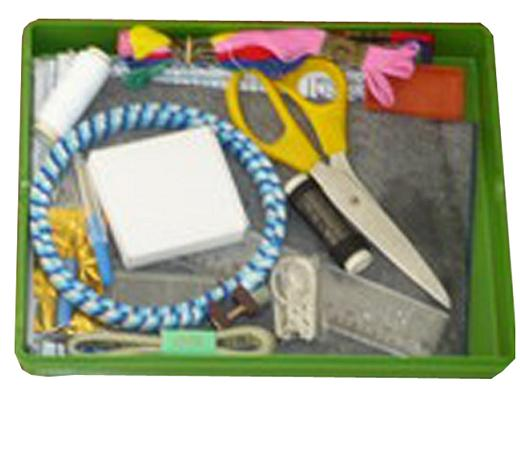 Bộ dụng cụ vật liệu cắt thêu lớp 4 (HS)