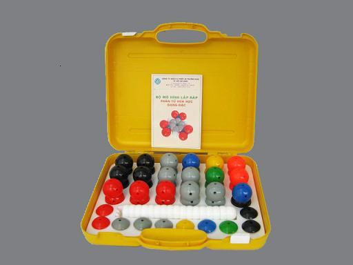 Mô hình phân tử dạng đặc