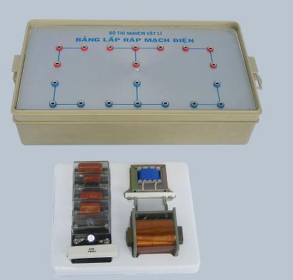 Bộ thí nghiệm thực hành về mạch điện xoay chiều