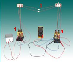 Bộ thí nghiệm máy biến áp và truyền tải điện năng