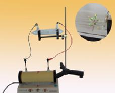 Bộ thí nghiệm tia Ca-tôt mang năng lượng và làm phát quang mô...