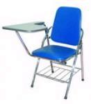 Ghế cá nhân có bàn viết simili chân sắt